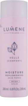 Lumene Cleansing Hellä [Comfort] tónico hidratante para pele seca